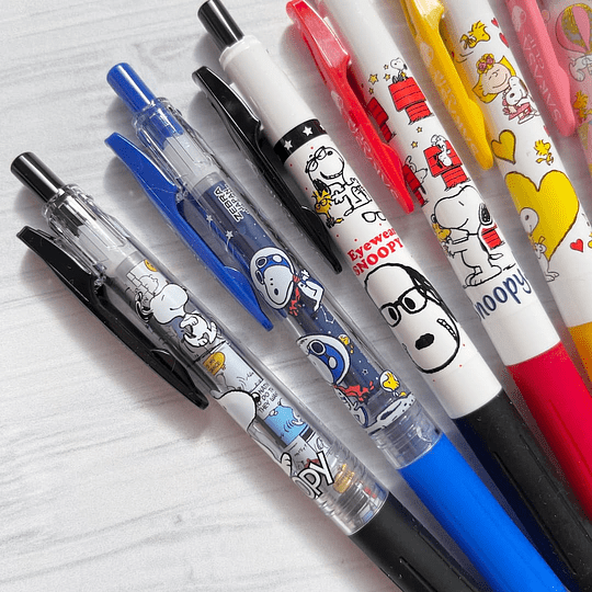 Zebra Sarasa Clip Snoopy Special Edition 2021