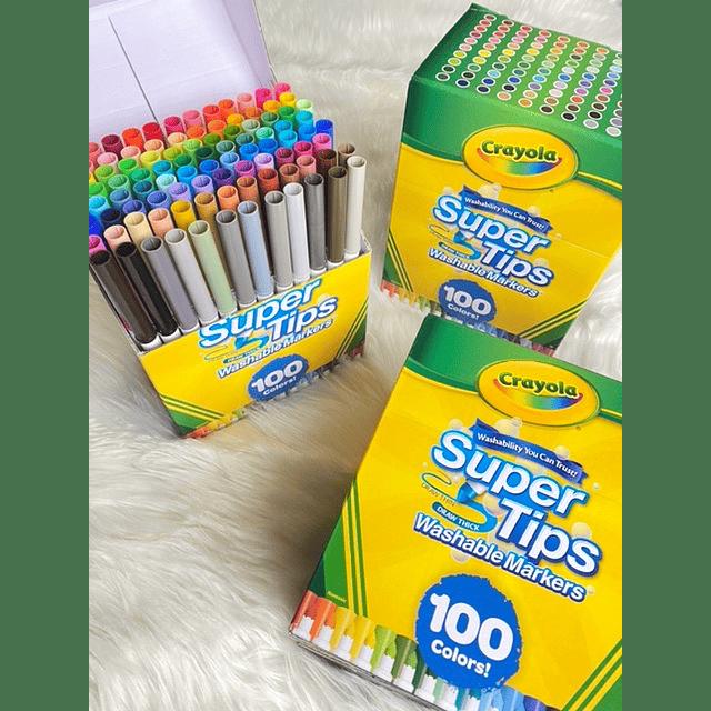 CRAYOLA SUPER TIPS 100