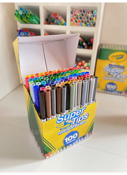 CRAYOLA SUPER TIPS 100