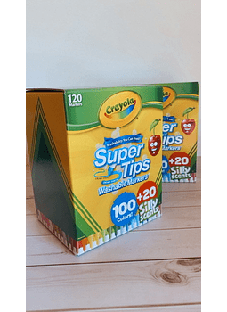 CRAYOLA SUPER TIPS 120
