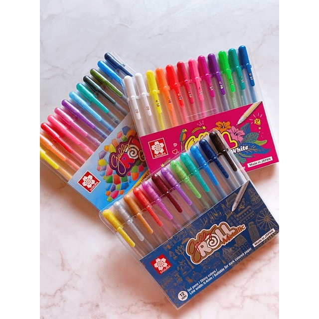 GELLY ROLL 12 COLORES