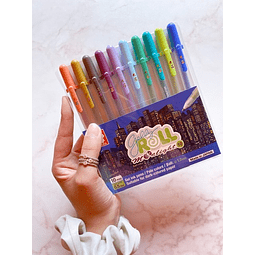 GELLY ROLL 10 COLORES