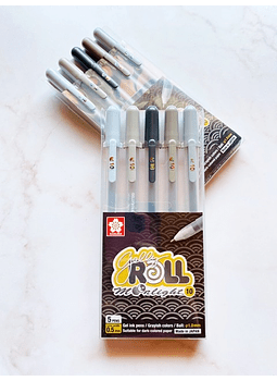 GELLY ROLL 5 COLORES