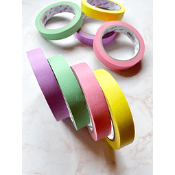 WASHI TAPE DE COLOR