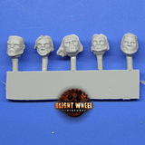 Heads pack 01 common 10 heads