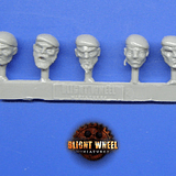 Heads pack 02 veterans 10 differents heads