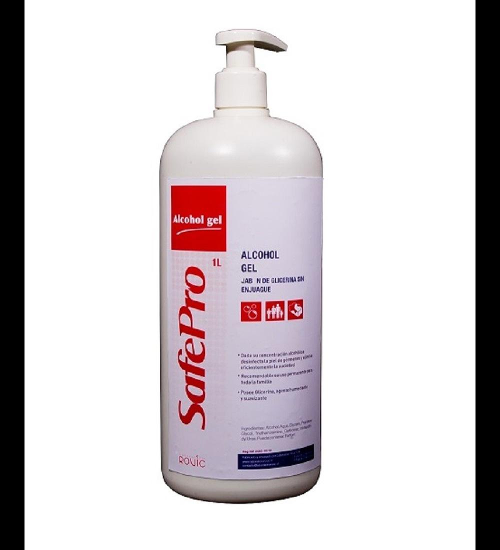 Alcohol gel con glicerina Safepro