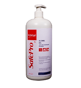 Alcohol gel con glicerina Safepro
