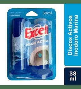 Discos Activos EXCELL, Marina x 38 ml