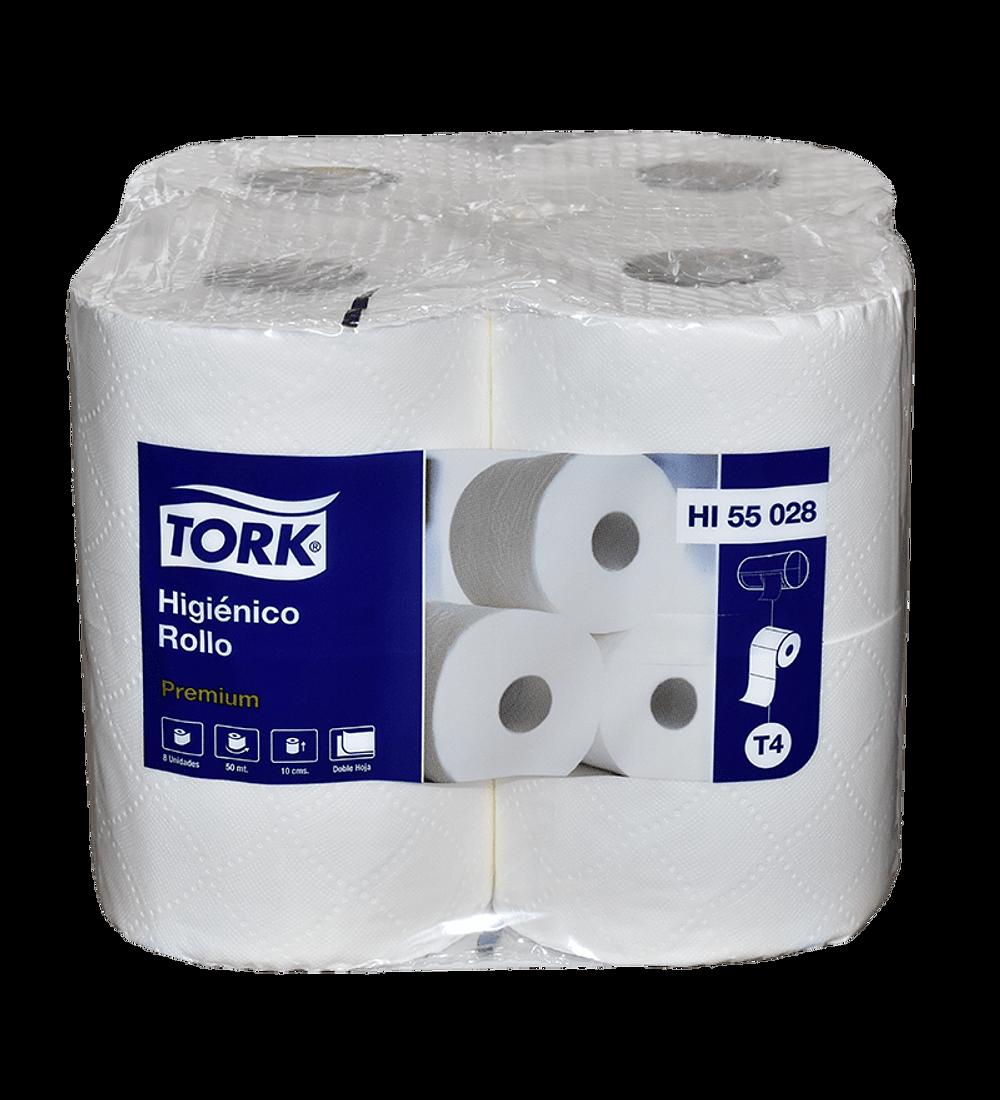Papel Higiénico Tork Doble Hoja 50 metros 8 Rollos