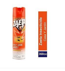 Insecticida Zeta casa y jardín, 360 cc