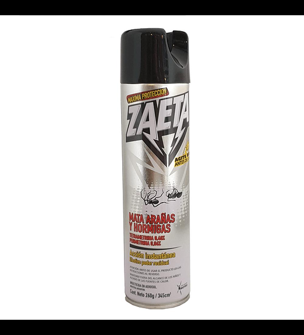 Insecticida Zaeta 345 ml mata arañas y hormigas