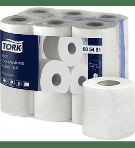 Papel Higiénico Tork Premium 20 Metros Doble Hoja