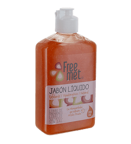 Jabón Natural Exfoliante 250ml Freemet