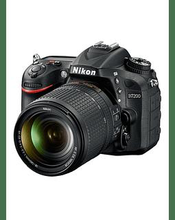 Camara Nikon Reflex D7200 + Lente 18-140
