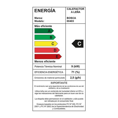 Calefactor a leña Limit 360