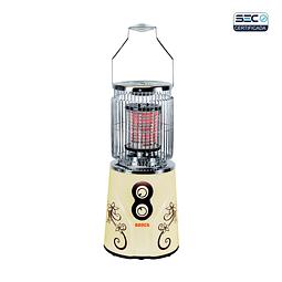 Calefactor eléctrico 360° Beige