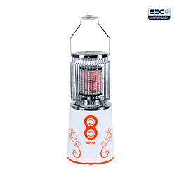 Calefactor eléctrico 360° Blanco