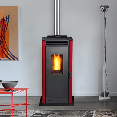 Calefactor a pellet Eco Smart Burdeo