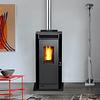 Calefactor a pellet Eco Smart Charcoal