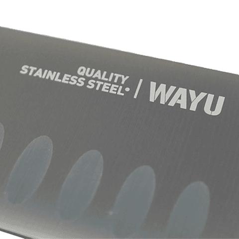 Cuchillo Santoku Wayu