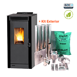Eco Smart Charcoal + Kit exterior