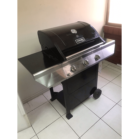 Parrilla a gas Eco Grill 3Q