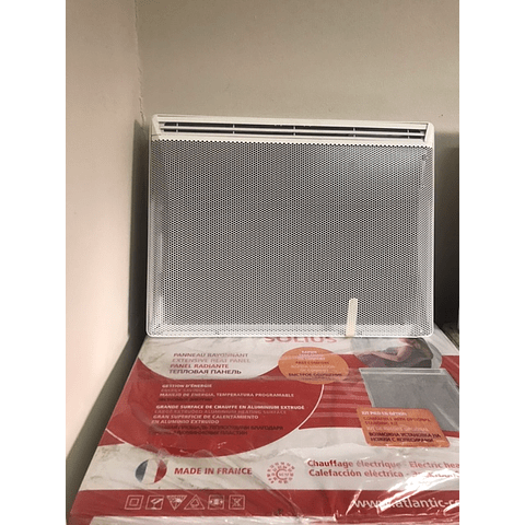 Calefactor eléctrico Solius 1000 W