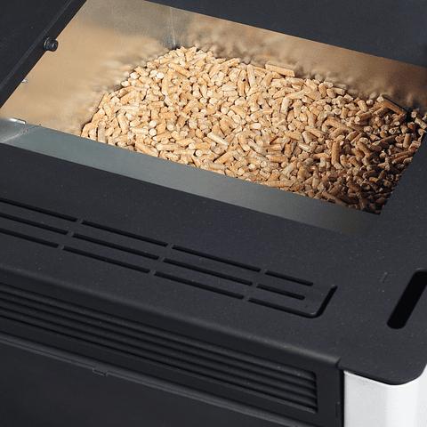 Calefactor a pellet Eco Smart Wifi Touch Burdeo
