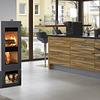 Calefactor a leña Xeoos® Basic Natur