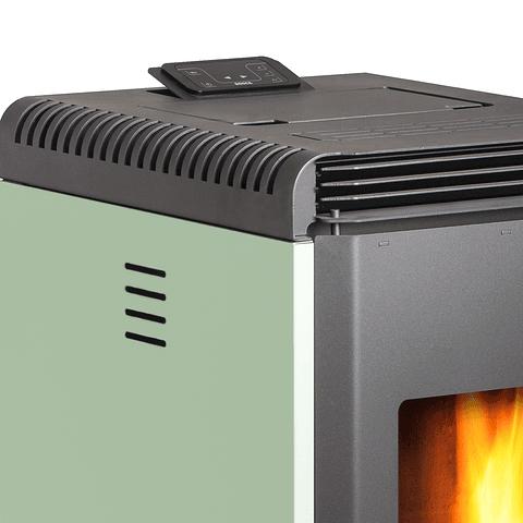 Calefactor a pellet Hera+ Verde