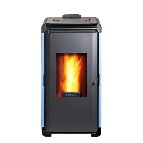 Calefactor a pellet Hera+ Azul