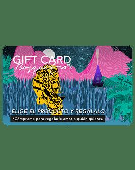 """GIFT CARD """"REGALA UN BOSQUETRO"""""""
