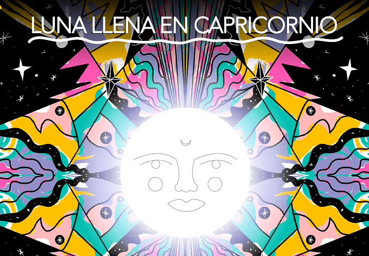 LUNA LLENA EN CAPRICORNIO 2021