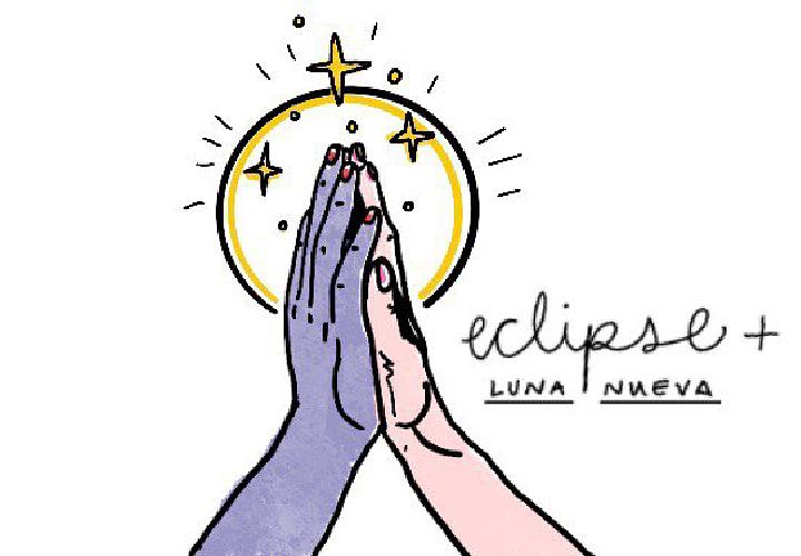 Luna Nueva y eclipse de Sol Anular en Cáncer