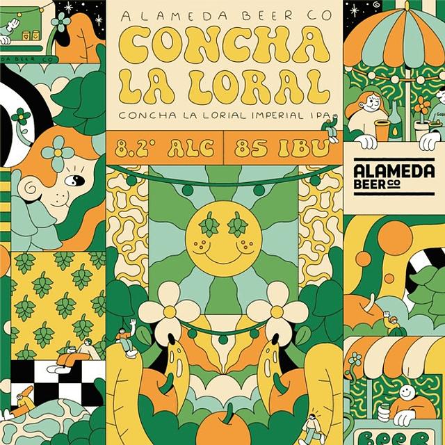 Alameda - Concha la Loral!