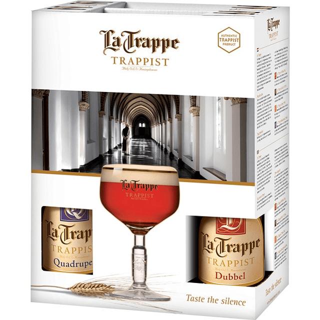 La Trappe Gift Pack 4 Botellas más Copa