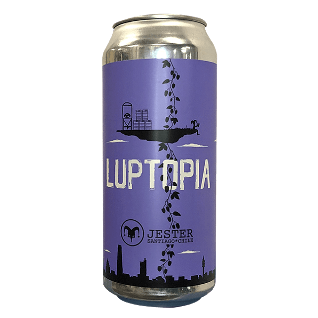 Cerveza Jester Luptopia 473cc