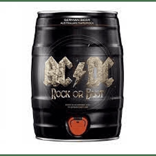 Cerveza AC / DC Barril de 5 LITROS