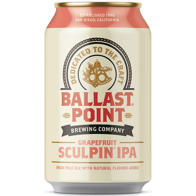 Ballast Point Grapefruit Sculpin 355cc