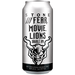 Estone Fear Movie Lions Lata 473cc