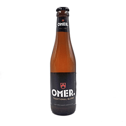 Omer Tradicional Blond Botella 330cc