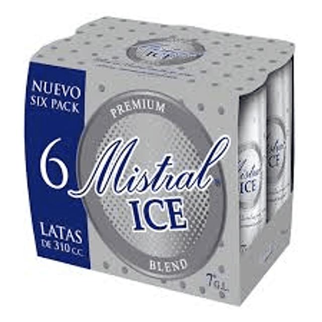 MISTRAL ICE BLEND X6 latas de 310 cc