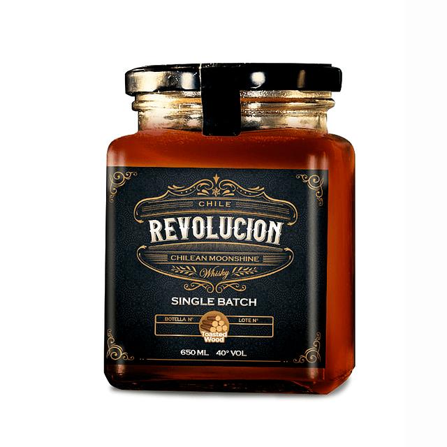 Whisky single batch Revolucion 650 ml