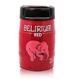 Barril Delirium red 5lts