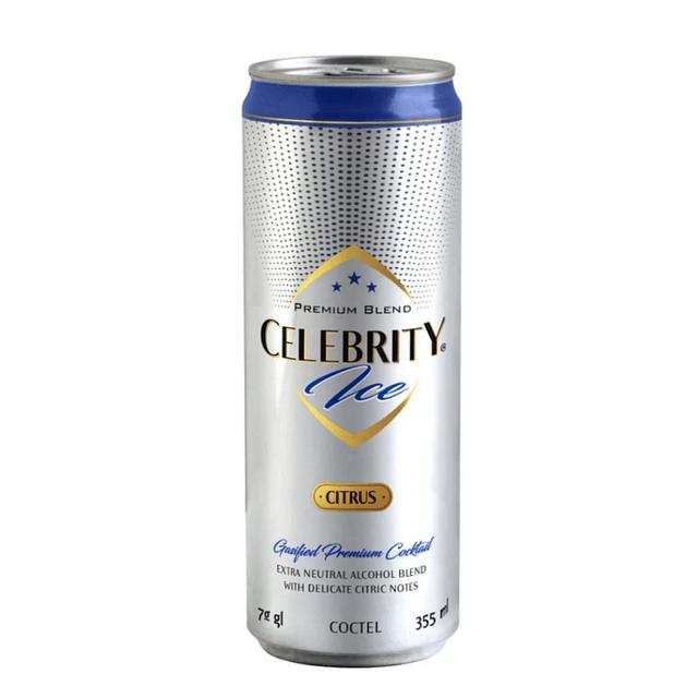 CELEBRITY ICE CITRUS 355cc