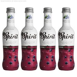 Cocktail Spirit Blueberry 5,5º 275cc X4