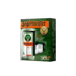 Jägermeister 700cc + Molde de Hielo para Shots