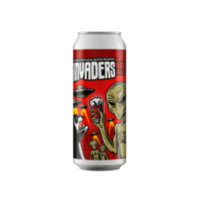Invaders Red Ale 473cc