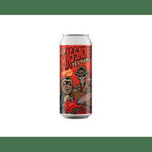 Massacre del Diablo Imperial Stout Ají Cacho Cabra y nibs de cacao